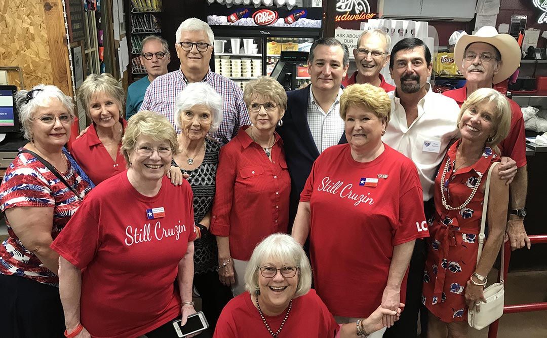 Llano County GOP with Ted Cruz